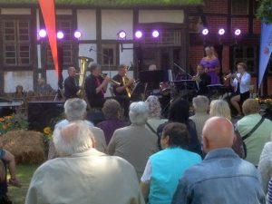 BBS in Diesdorf auf der Bühne